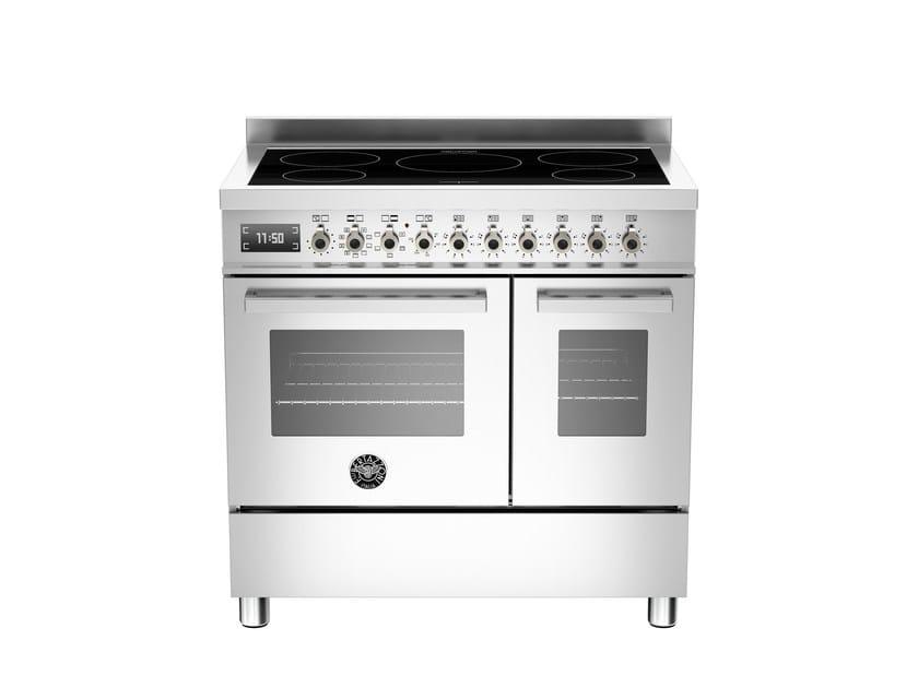 Cucina a libera installazione professionale PROFESSIONAL - PRO90 5IND MFE D by Bertazzoni