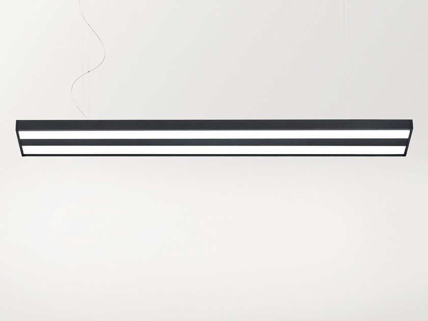 Sospensione Alluminio Lampada Profile Led In Arkoslight 220 A E2DH9IW