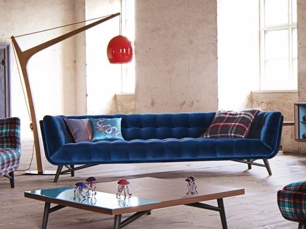 4 seater fabric sofa PROFILE | 4 seater sofa by ROCHE BOBOIS