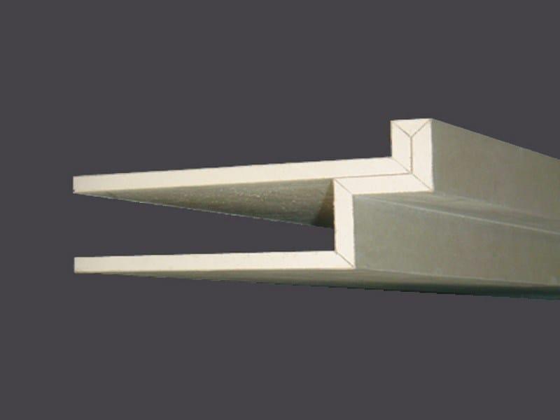 Cornices in plasterboard PROFILGIPS CORNICE NEON HOUSING 90° by Gyps