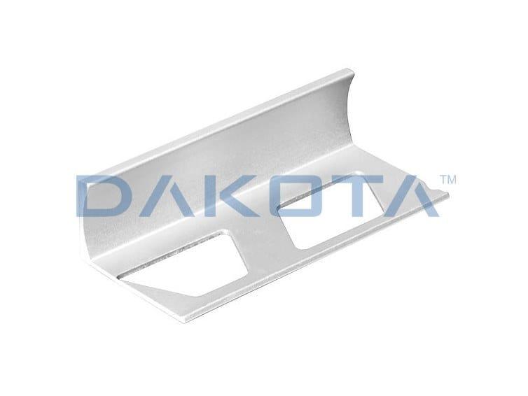 """Aluminium Edge protector PROFILO A """"L"""" ALLUMINIO BIANCO by Dakota"""