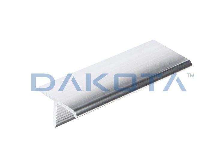 """Aluminium Edge protector PROFILO A """"T"""" ALLUMINIO LUCIDO by Dakota"""