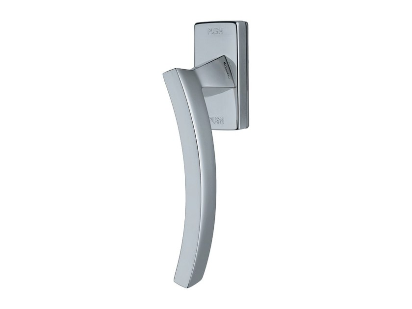 Contemporary style anti-intrusion DK brass window handle PROFILO | Anti-intrusion window handle by LINEA CALI'