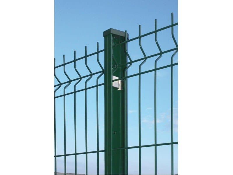 Palo per recinzione in acciaio zincato PROFILPRO by Gruppo CAVATORTA