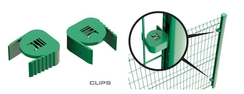 PROFILPRO PLUS clips di bloccaggio