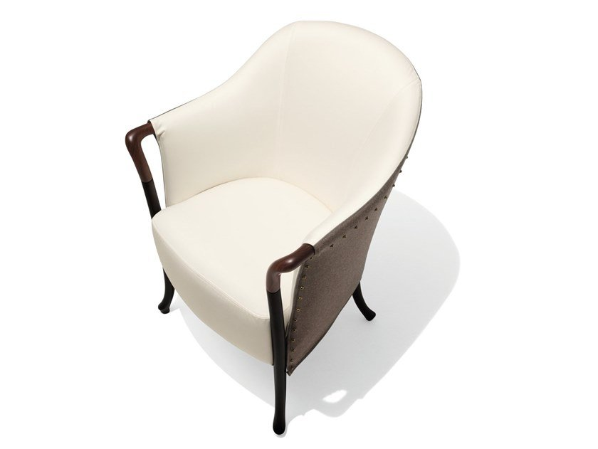 Fabric easy chair with armrests PROGETTI FASHION | Fabric easy chair by GIORGETTI