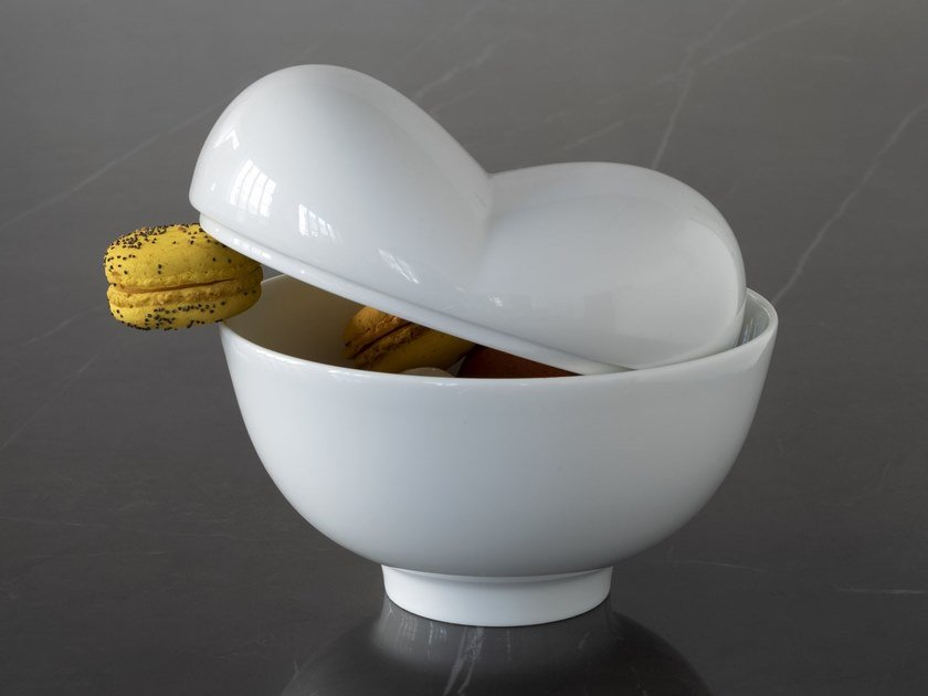 Porcelain serving bowl PROHIBITION by extranorm