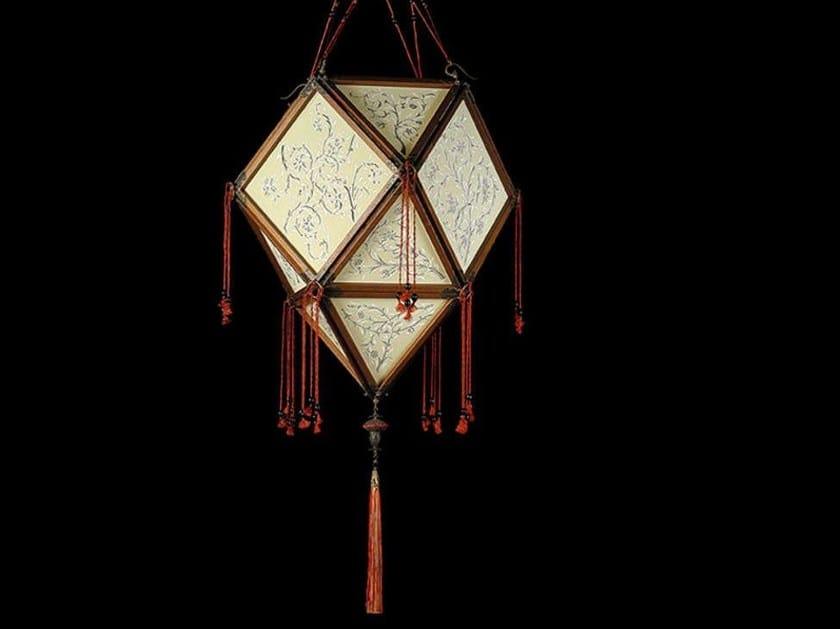 Silk pendant lamp PROIBITA by Fortuny