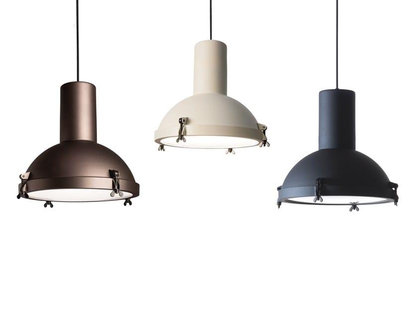 Lampada a sospensione a LED orientabile in alluminio PROJECTEUR 365   Lampada a sospensione by NEMO