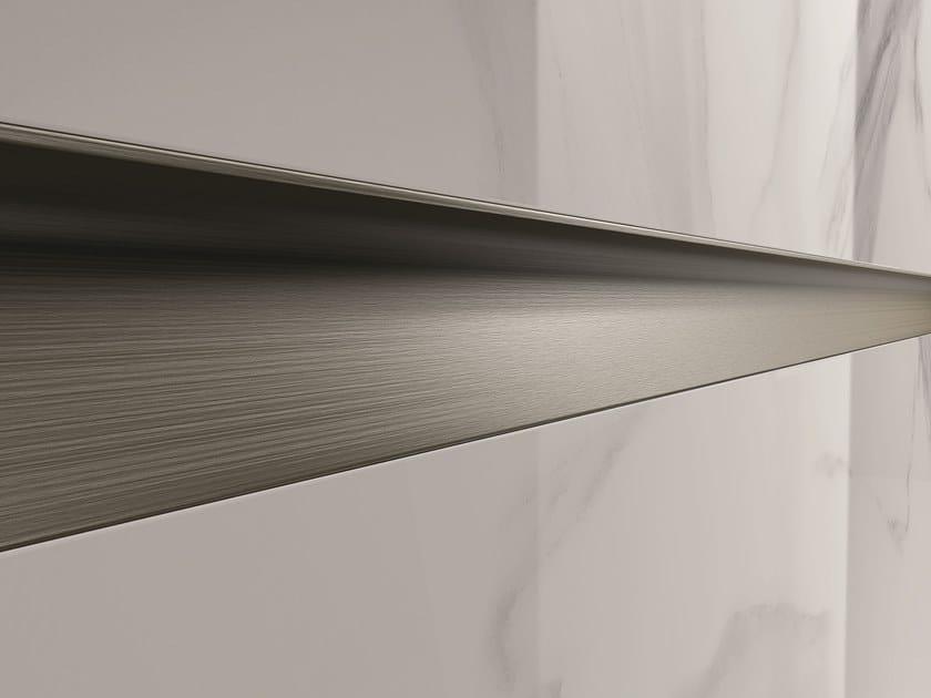 Bordo decorativo in metallo per rivestimenti PROLIST S by PROFILPAS