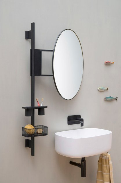 Bathroom wall shelf - Bathroom Wall Shelf 50