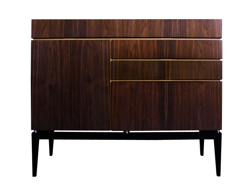 Walnut sideboard with drawers PROPORTION | Sideboard by Malabar