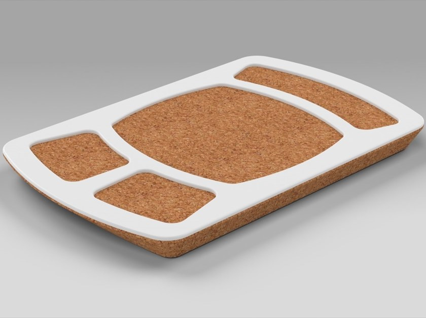 Rectangular cork tray PROPS | Cork tray by AMA Design