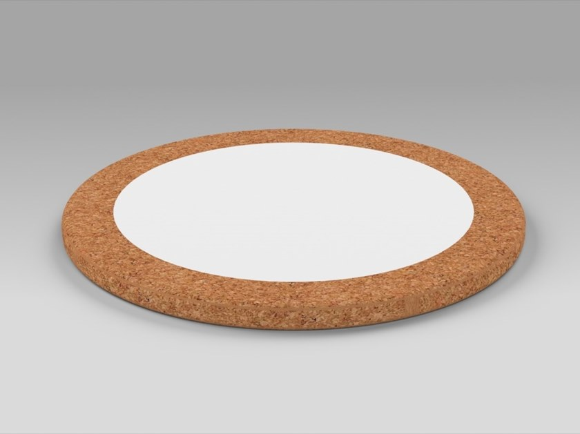 Round Corian® trivet PROPS   Trivet by AMA Design