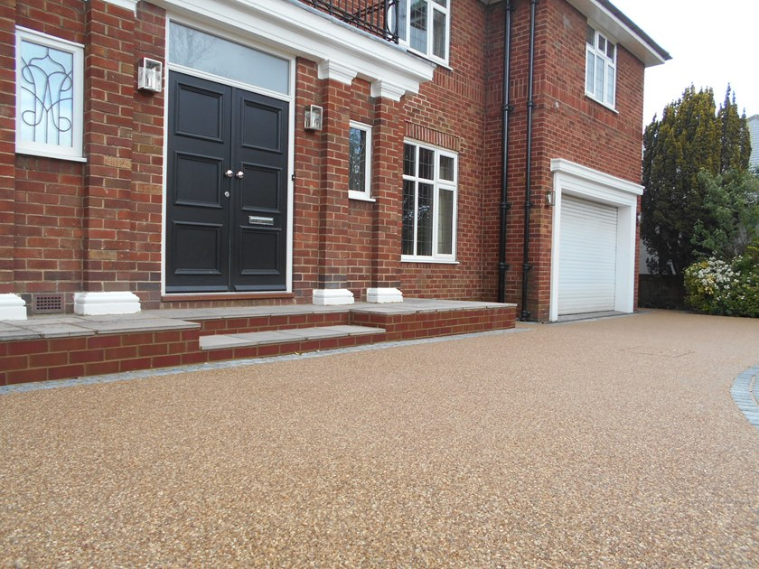 Resin bound paving PRORESIN by SureSet