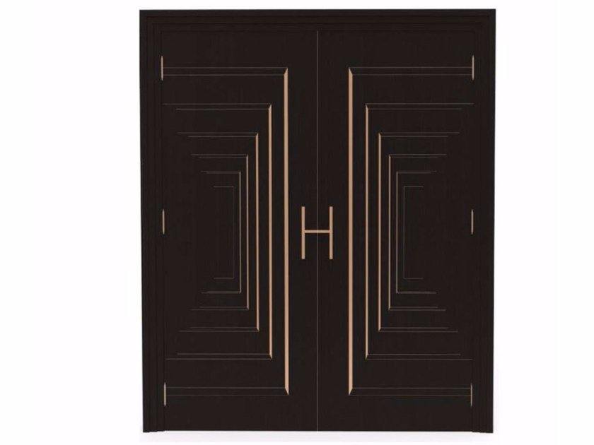 Hinged ebony door PROSPETTIVE by HEBANON