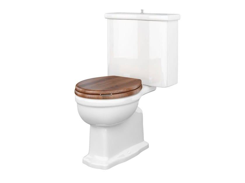 Close coupled ceramic toilet PROVENCE '800   Close coupled toilet by BLEU PROVENCE