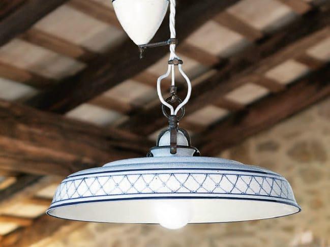 Ceramic pendant lamp provenza pendant lamp by aldo bernardi