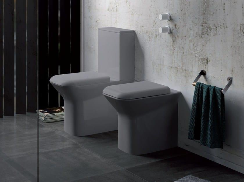Ceramica Azzurra Full 48.Prua Close Coupled Toilet Prua Collection By Azzurra Sanitari