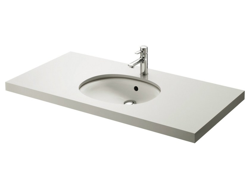 Built-In ceramic Public washbasin PUBLIC | Built-In Public washbasin by TOTO