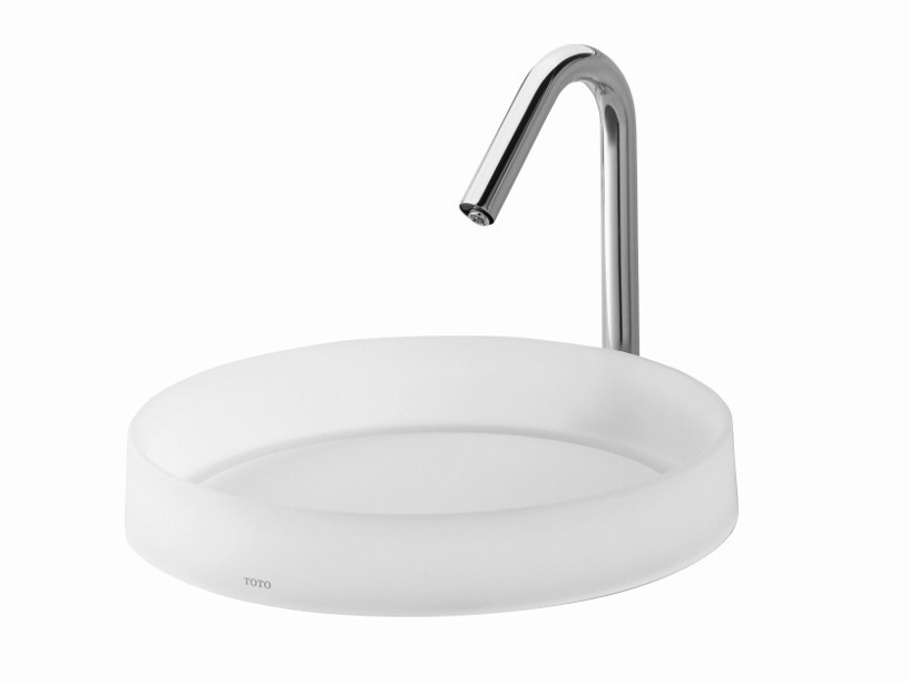 Countertop resin Public washbasin PUBLIC | Countertop Public washbasin by TOTO
