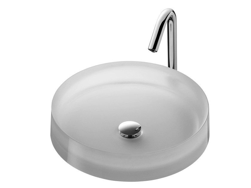 Countertop resin Public washbasin PUBLIC   Resin Public washbasin by TOTO