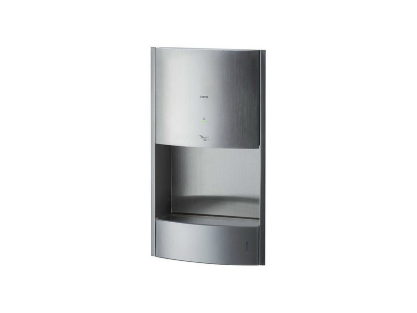 Automatic stainless steel Electric hand-dryer PUBLIC   Electric hand-dryer by TOTO