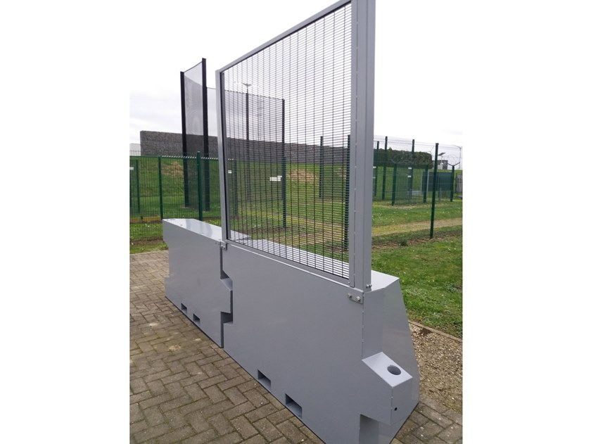 Construction site temporary and mobile fencing Publifor® HVM by BETAFENCE ITALIA