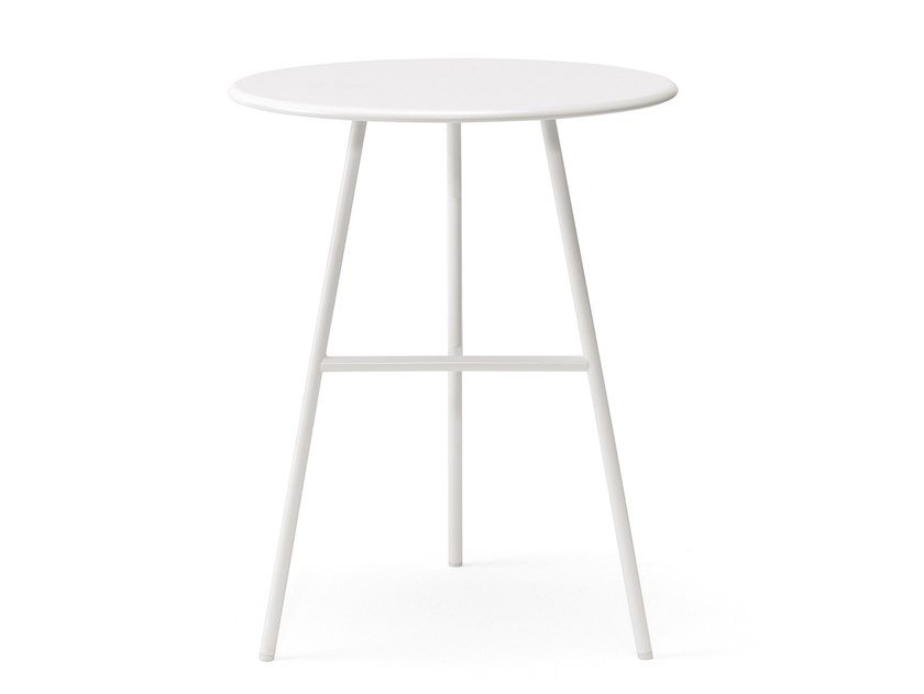 Round metal contract table PUCCIO | Metal table by BILLIANI
