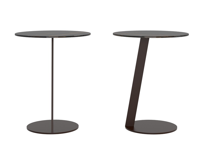 Brilliant Round Marglas Side Table Puck By Jesse Download Free Architecture Designs Grimeyleaguecom