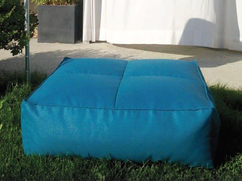 Upholstered pouf PUFFONE | Fabric pouf by GART