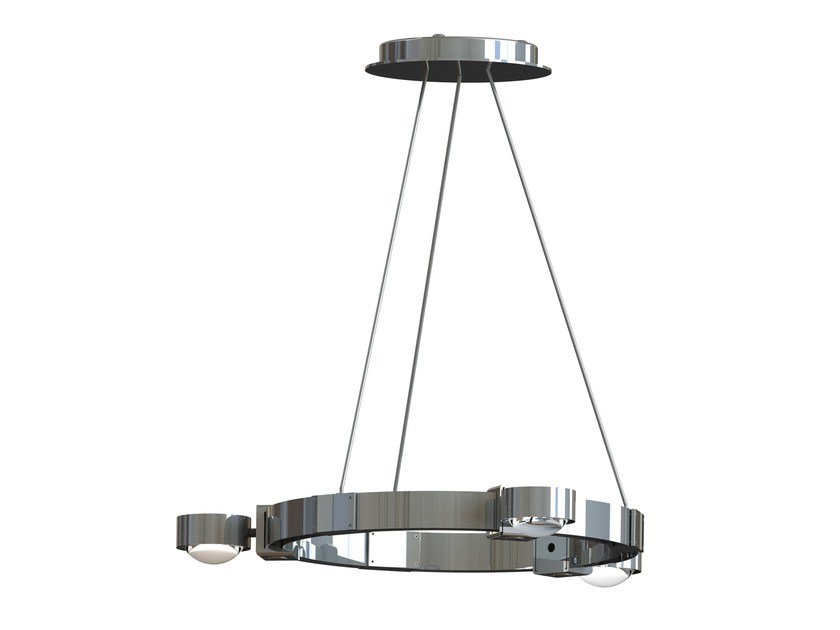 Pendant lamp PUK CROWN by Top Light