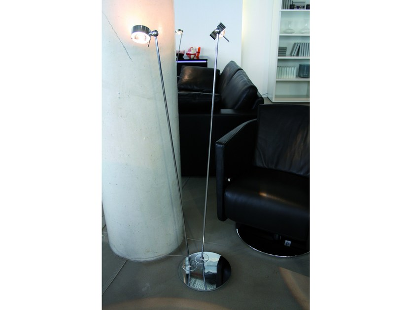 Adjustable reading lamp with swing arm PUK FLOOR SISTER by Top Light
