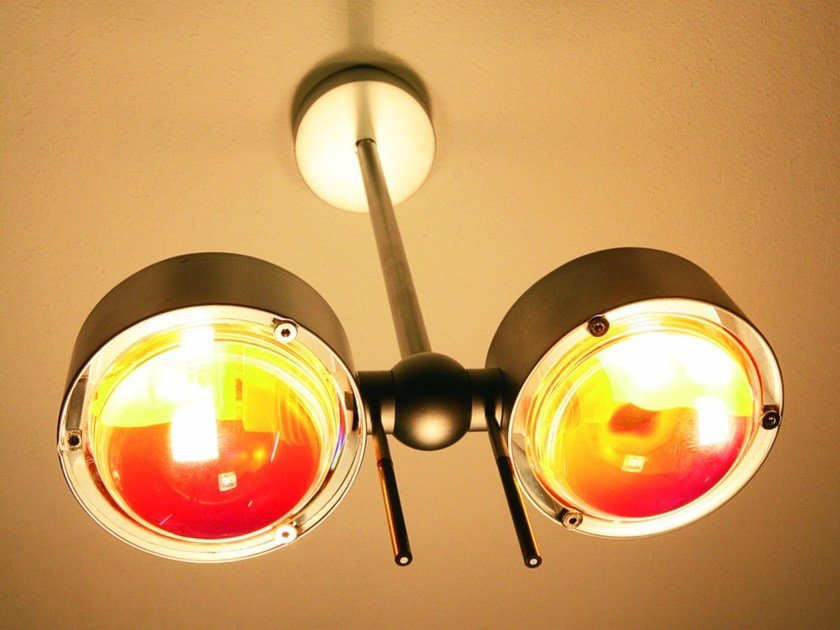 Adjustable ceiling lamp PUK SIDE TWIN | Ceiling lamp by Top Light