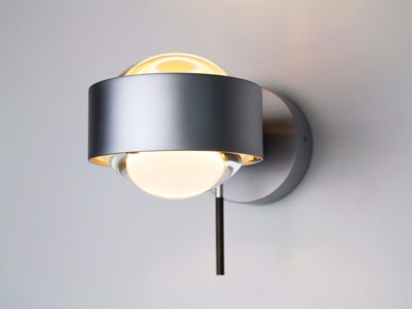 Adjustable metal wall light PUK WALL + by Top Light