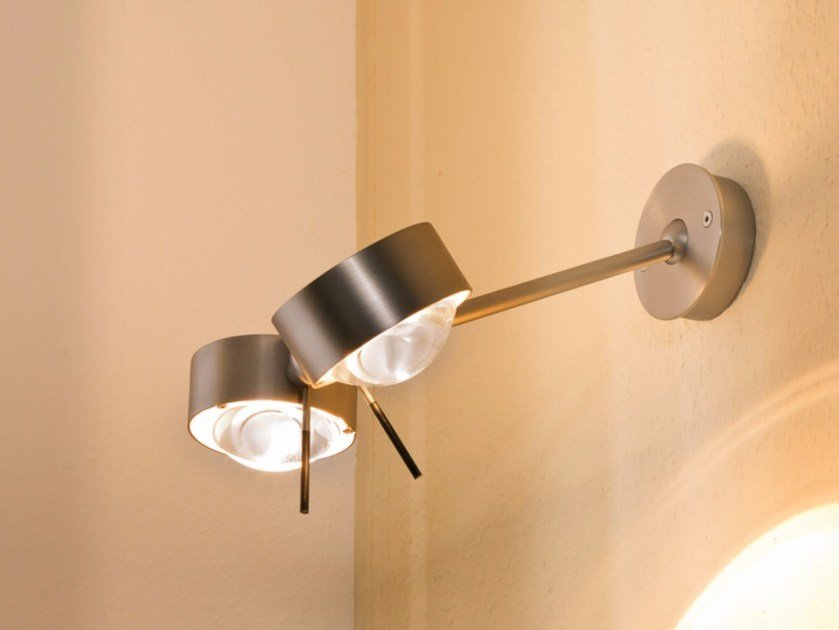 Adjustable metal wall light PUK WING TWIN | Wall light by Top Light