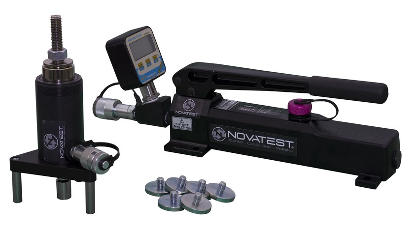 Instrumentation for testing the resistance to tearing PULL-OFF KIT 500 by NOVATEST