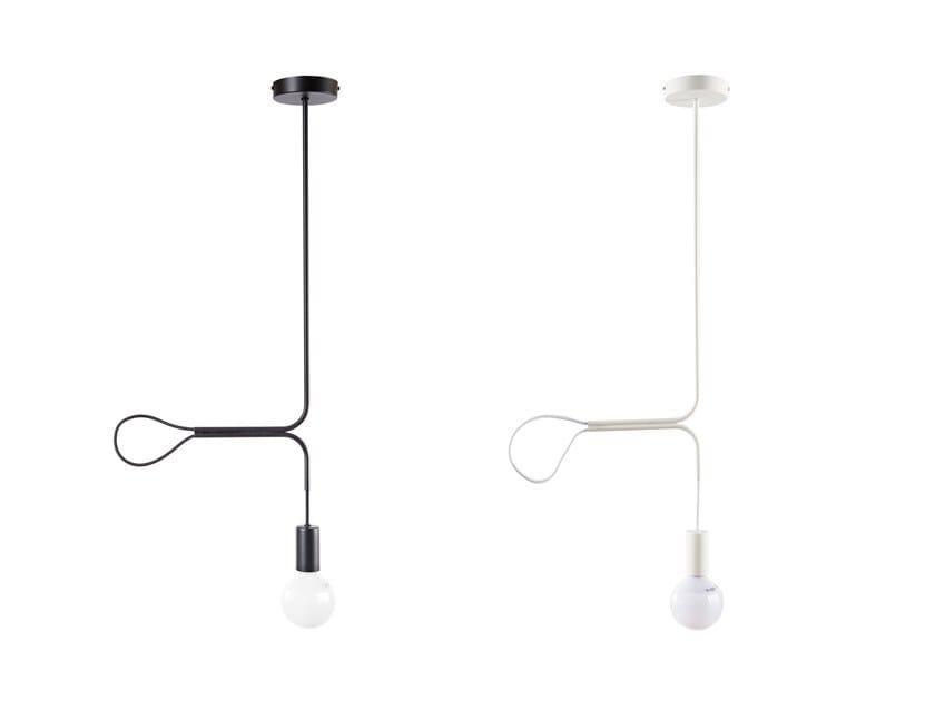 Lampada a sospensione in metallo PULLIGHT by Atipico