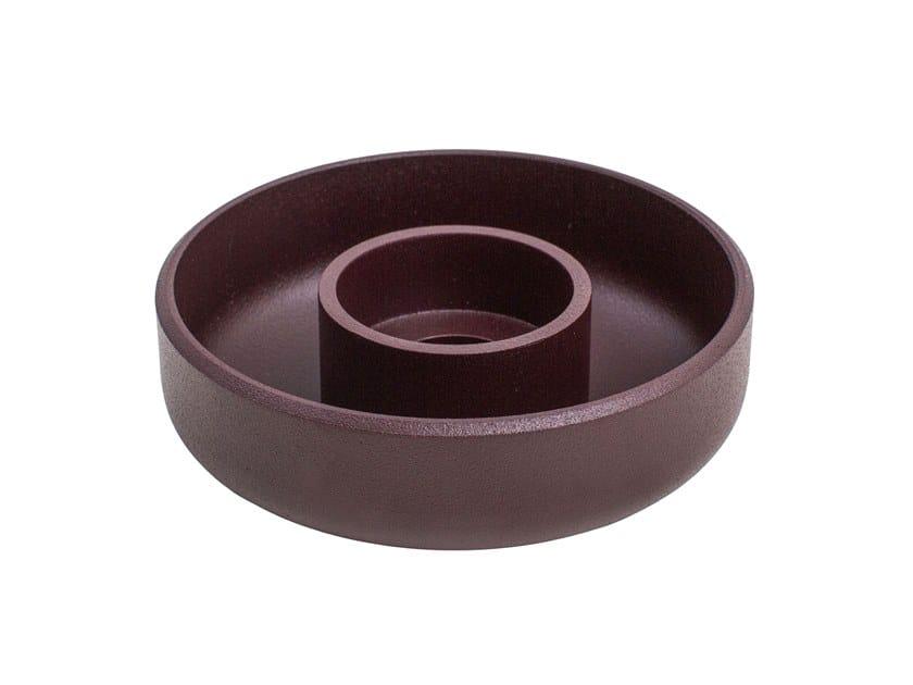 Portacandele in acciaio PUNCHED METAL | Portacandele by Hem
