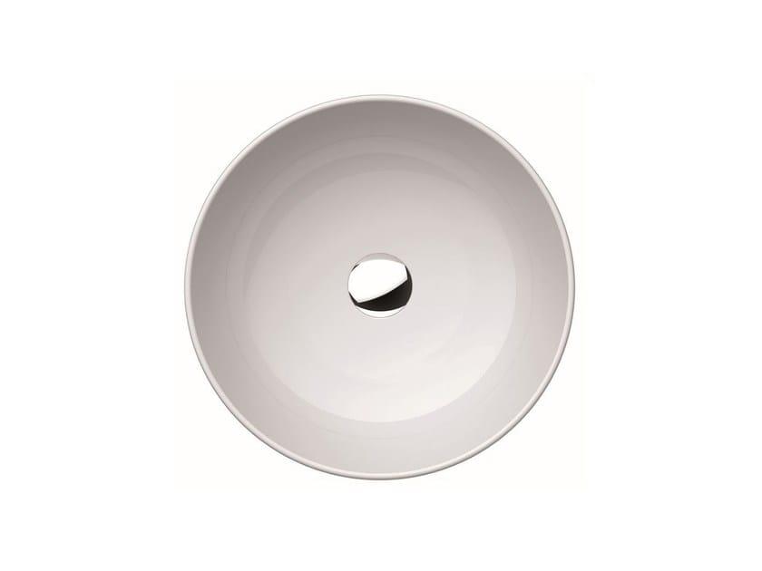 Countertop round washbasin PURA 48 | Countertop washbasin by GSI ceramica