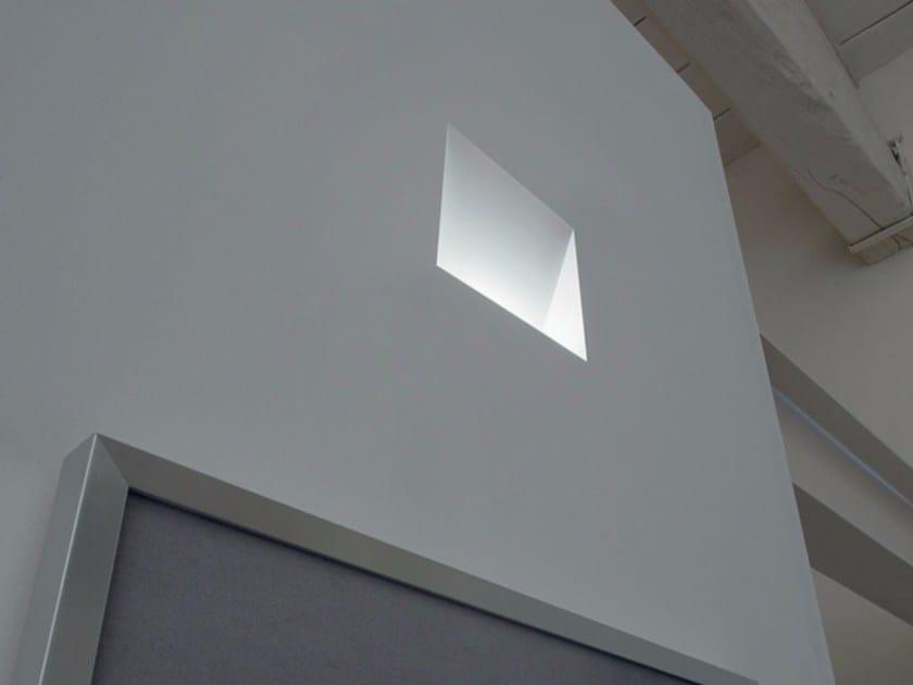 LED wall-mounted steplight PURA by DAVIDE GROPPI
