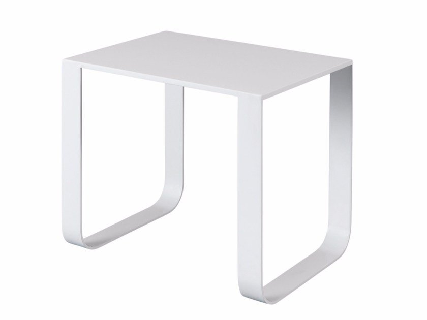 Rectangular steel coffee table PURDEY by AZEA