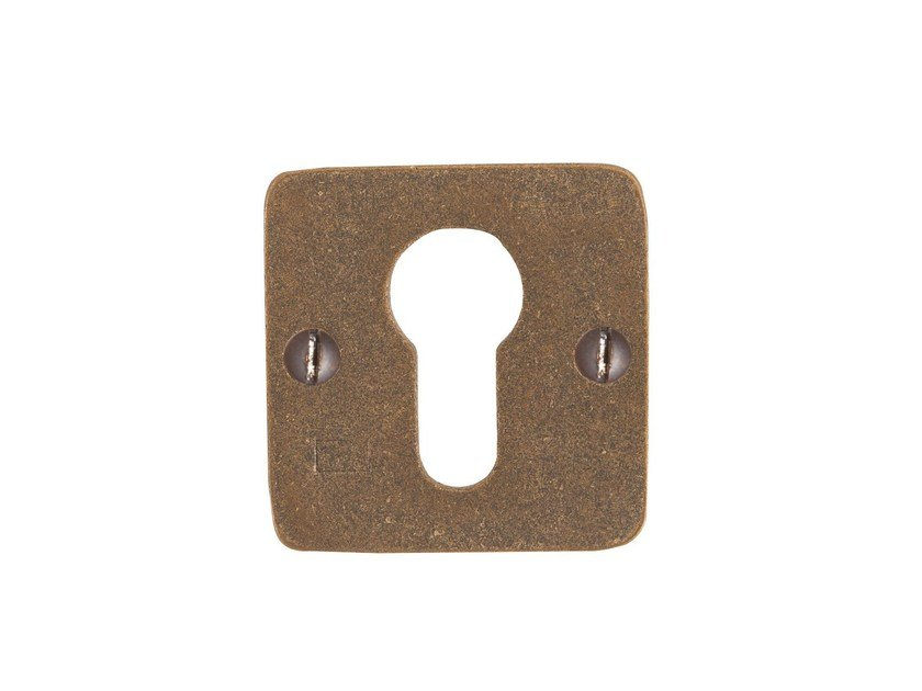 Square keyhole escutcheon PURE 14603 by Dauby