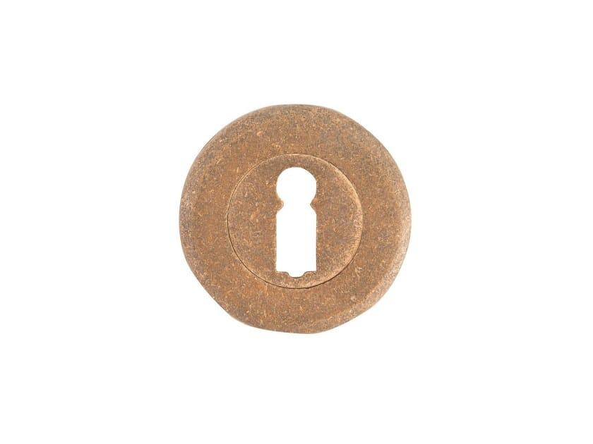 Round keyhole escutcheon PURE 14605 by Dauby