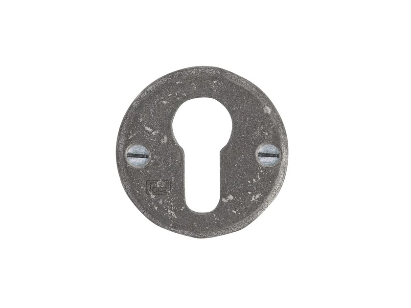 Round keyhole escutcheon PURE 14821 by Dauby