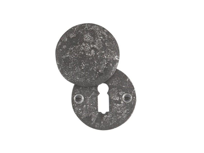 Round keyhole escutcheon PURE 14826 by Dauby