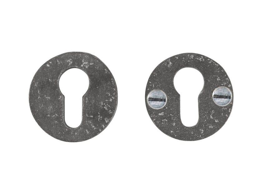 Round keyhole escutcheon PURE 14889 by Dauby