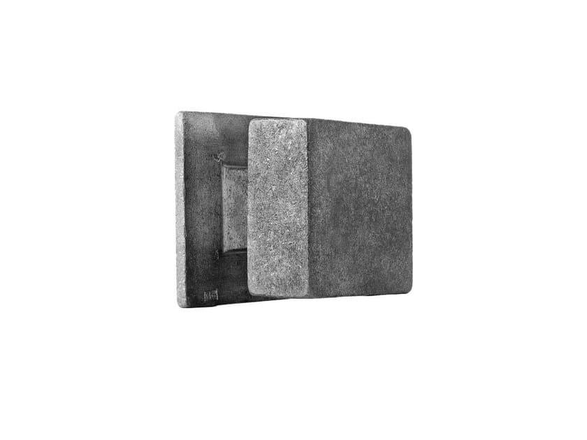 Metal door knob PURE 14892 by Dauby