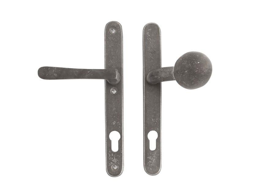 Metal exterior door handle PURE 14937 by Dauby