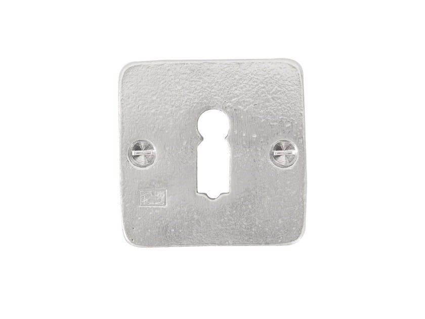 Square keyhole escutcheon PURE 15081 by Dauby